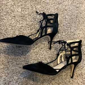 Marc Fisher black pointed heels